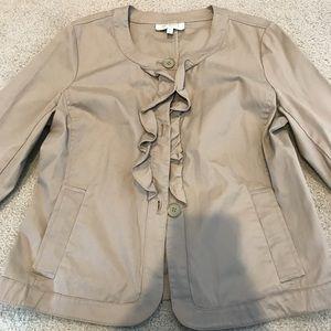 Beige light jacket